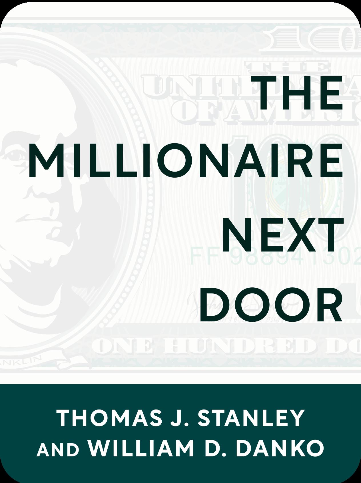 The Millionaire Next Door PDF Free Download